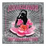 Despertando la tarjeta - saludo, invitación