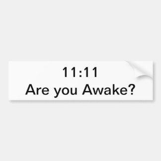 Despertar código pegatina para coche