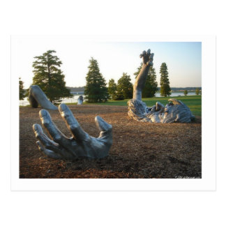 Despertar la escultura en Washington, C.C. Postal