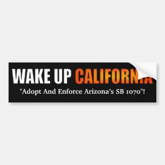 Despierte a la pegatina para el parachoques de Cal Pegatina Para Coche