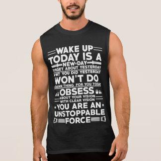 Despierte la camiseta de la motivación del