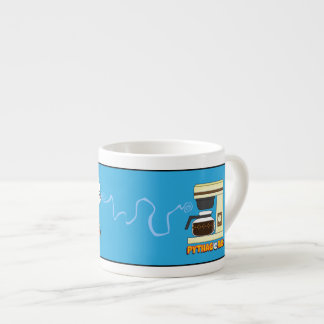 Despierte la taza del café express de Pitágoras