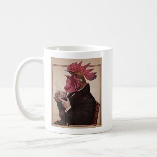 Despierte la taza del gallo