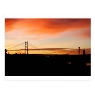¡Despierte Lisboa! Postal