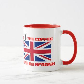 Despierte y huela la taza de café