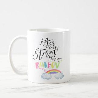 Después de cada tormenta hay una taza de café del