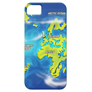 Después del deshielo - tierra inundada iPhone 5 Case-Mate cobertura