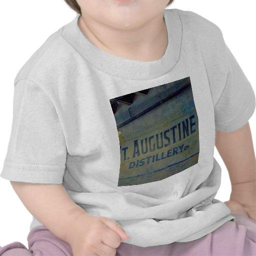 Destilería de St Augustine Camisetas