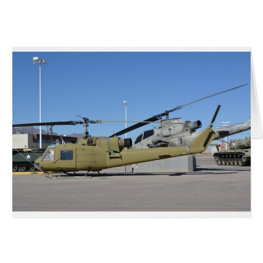 Destino de los aviones de los helicópteros de Huey Tarjetas
