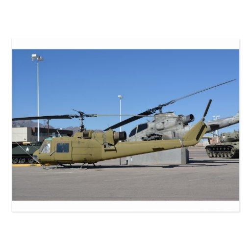 Destino de los aviones de los helicópteros de Huey Postal