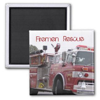 Destino Digital del rescate de la llama del fuego Imanes