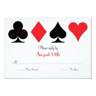 Destino Las Vegas que casa la tarjeta de