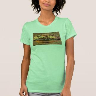 Destino verde del viaje camiseta