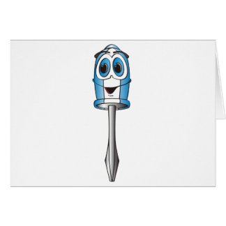 Destornillador Phillips azul Tarjeta