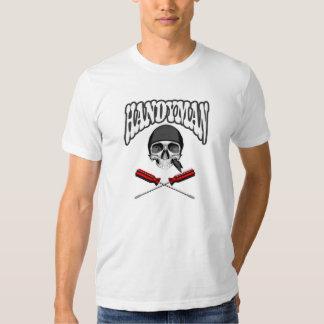 Destornilladores del cráneo de la manitas camisetas