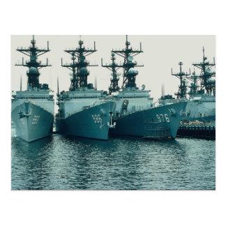 Destructores de la clase de Spruance, NAV STA, San Postal