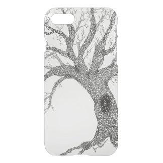 Desviación del árbol de la tinta del diseño funda para iPhone 7
