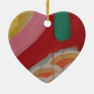 Detalle abstracto de la pintura adorno de cerámica