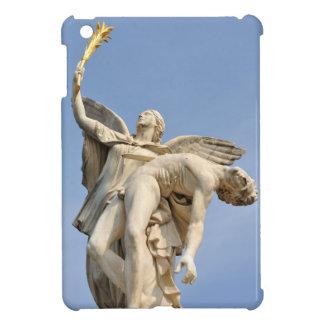 Detalle arquitectónico de la estatua en Berlín,