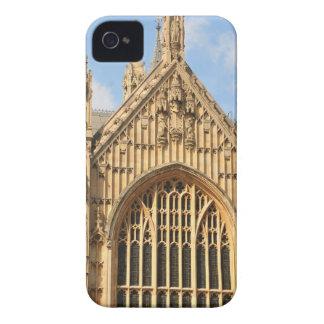 Detalle arquitectónico de la ventana gótica funda para iPhone 4