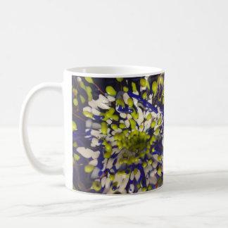Detalle de cristal de la flor de Penland I Taza De Café