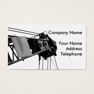 Detalle de la grúa tarjeta de negocios
