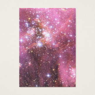 Detalle de NGC 346 en rosa Tarjeta De Negocios