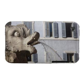 detalle de pescados en el Fontana de la Pantheon Funda Para iPhone 3