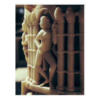 Detalle de un pilar, ANUNCIO c.1230 Postal