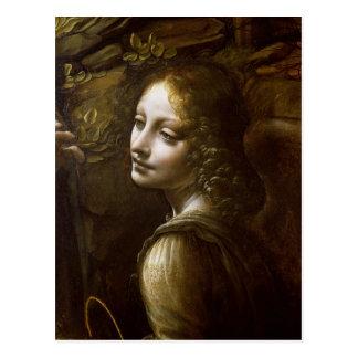 Detalle del ángel, de la Virgen del Postal