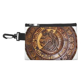 Detalle del calendario maya antiguo