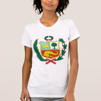 Detalle del escudo de armas de Perú Camisetas
