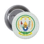 Detalle del escudo de armas de Rwanda Pin
