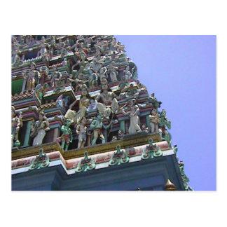 Detalle del gopuram postal