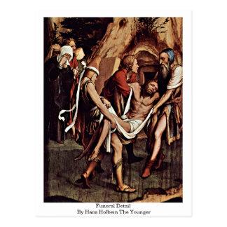 Detalle fúnebre de Hans Holbein el más joven Tarjetas Postales