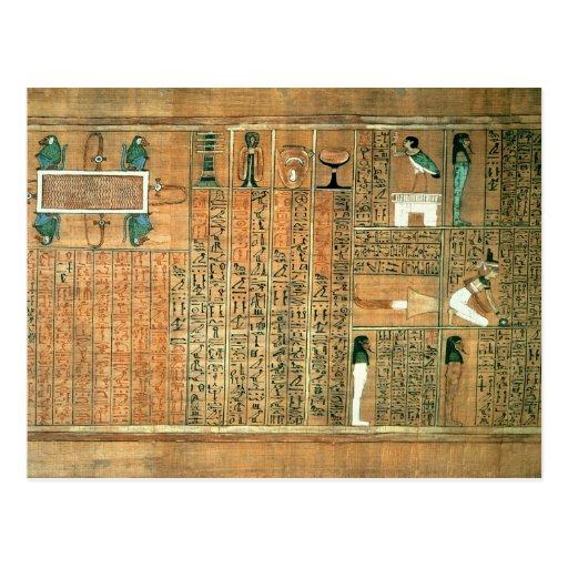 Detalle que representa el difunto y sus vagos tarjetas postales