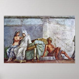 Detalles del boda de Aldobrandini Aphrodite de la Impresiones