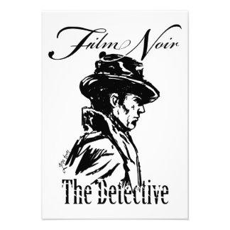 Detective Noir de la película Comunicados Personales
