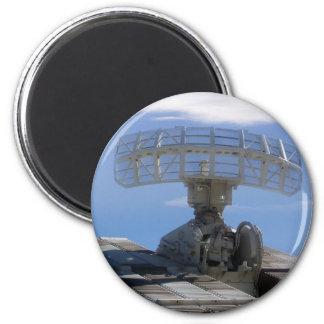 Detector anti de los aviones - radar suelo-aire imán redondo 5 cm