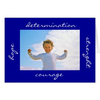 Determinación del valor de la esperanza de la tarjeta de felicitación