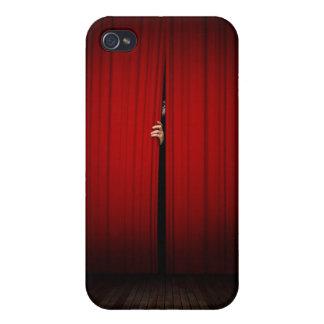 Detrás de la cortina iPhone 4/4S carcasas