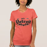Detroit 313 camiseta
