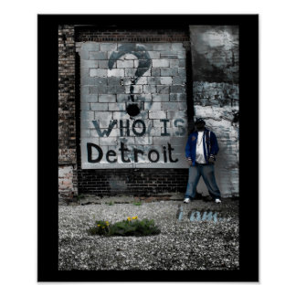 Detroit (soy) póster