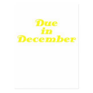 Deuda en diciembre postal