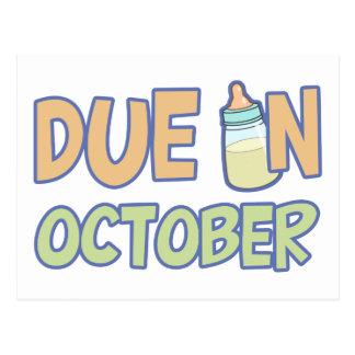 Deuda en octubre postal