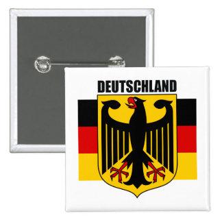 Deutschland 2 chapa cuadrada
