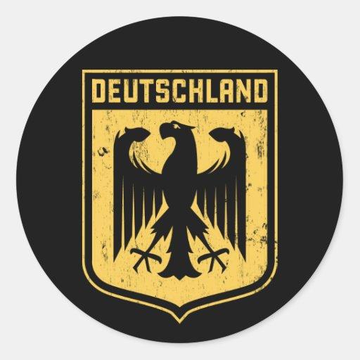 Deutschland Eagle - escudo de armas alemán Pegatinas