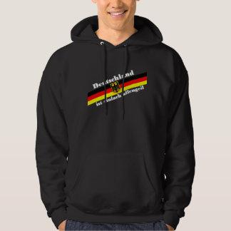 deutschland suéter con capucha