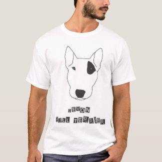 Devon bull terrier - remiendo camiseta