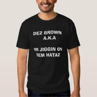 DEZ BROWN CAMISETAS